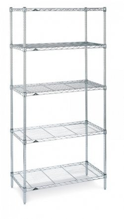SS Garment Display Rack