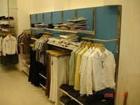 Customized Garment Display Rack