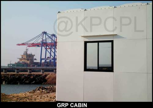 GRP Security Cabin