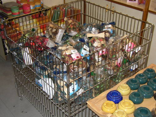 Supermarket Basket Cage