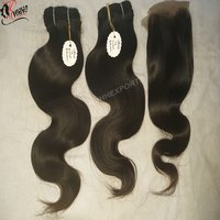 Natural Remy Body Wavy Machine Weft