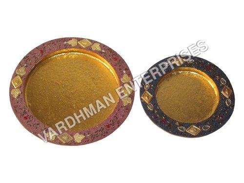 Round Shape Glitter Tray
