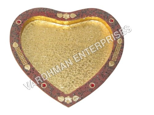 Heart Shape Mdf Tray