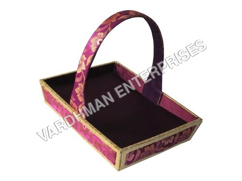 MDF SATIN BASKET