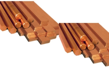 Tellurium Copper Rods