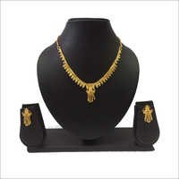 Artificial Gold Plated Necklace Set