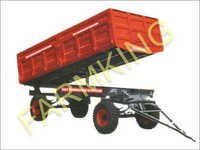 Tractor Hydraulic Tipping Trailer