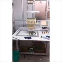 SINGLE HEAD EMBROIDERY MACHINE USED