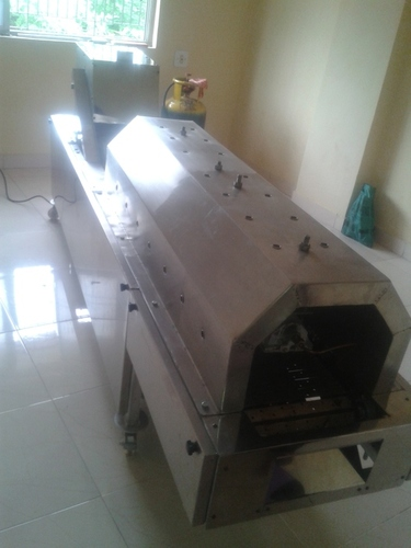 Semi Auto Chapati Making Machine