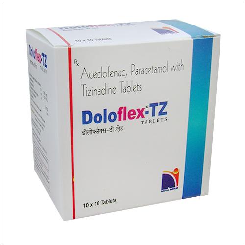 Aceclofenac Paracetamol Tizanidine Tablets