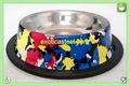 Anti Skid Dog Bowl - Multi Print