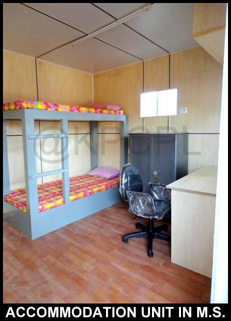 PUF Site Accomodation Cabin