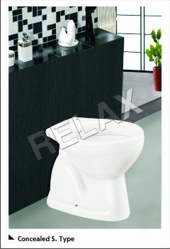 Concealed S Type Commodes