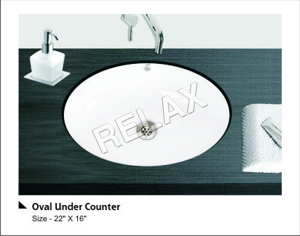 Oval Under Counter