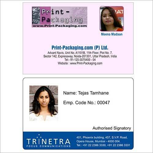 Horizontal ID Cards