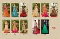Vipul Fashions (Dcat-40) Anarkali Suits
