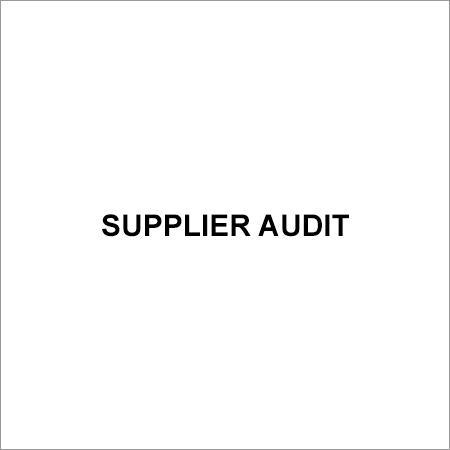 Supplier Audit