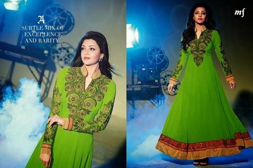 Heavy Embriodered Anarkali Salwar Kameez