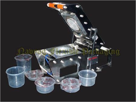 Plastic Container Sealing Machine