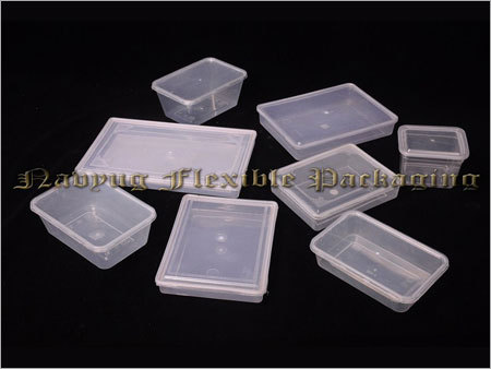 Plastic Flat Boxes
