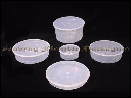 Platic Round Boxes