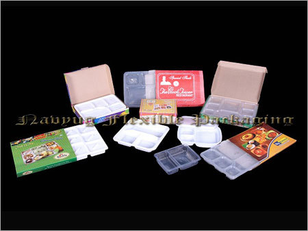 Meal Serving Plastic Trays
