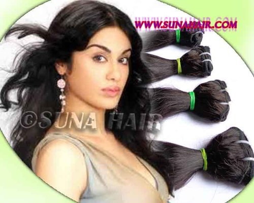 Indian body wavy tangle free natural wholesale price human hair