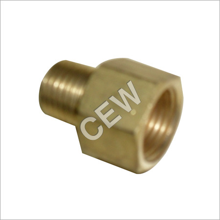Polished Brass Male Connector
