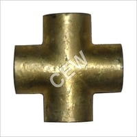 Brass Female Equal Cross