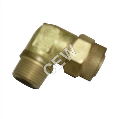 90 Degree Brass Elbow