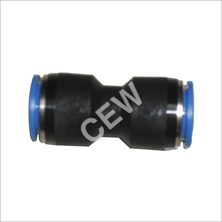 Straight Union Pneumatic Fitting