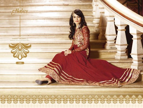 Stylish Georgette Anarkali Suit