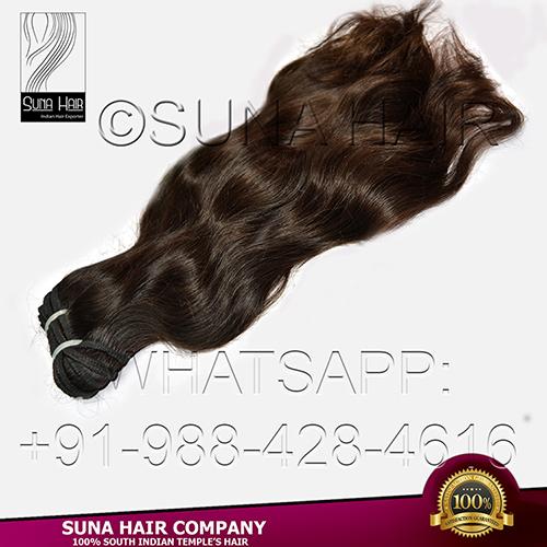 remy virgin natural wavy remy human hair