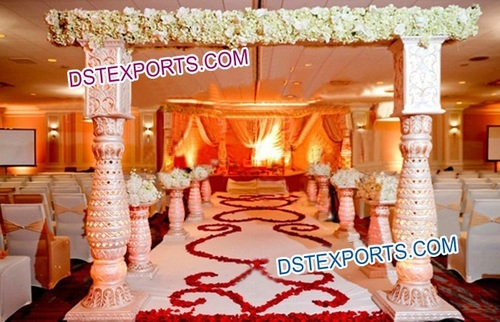 Wedding Carved Welcome Gate