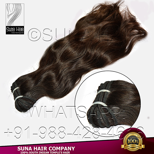 Wavy Tangle Free Indian Virgin Human Hair