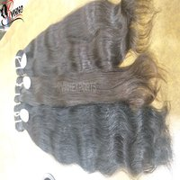 Remy Single Drawn Wavy Machine Weft Hair
