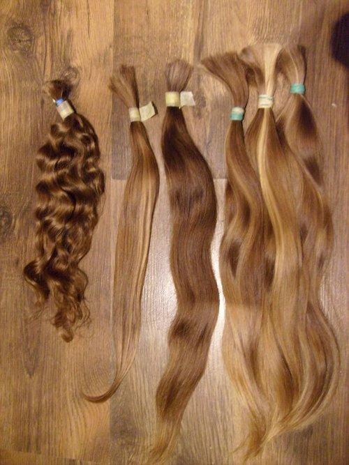 Virgin Blonde Hair