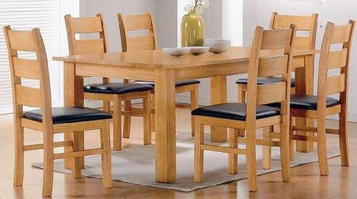 wood daining table