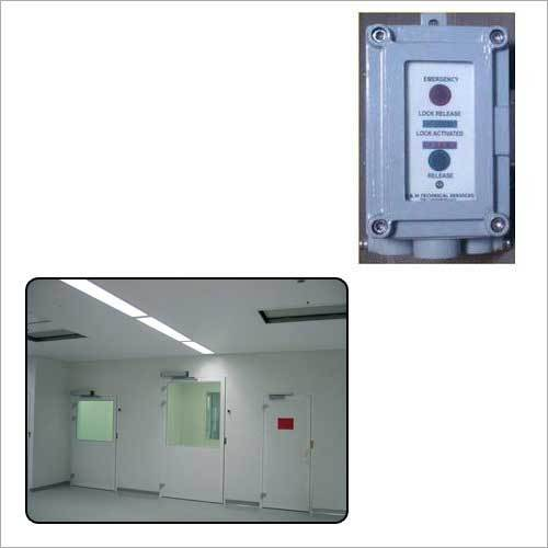 Clean Room Door Interlock System