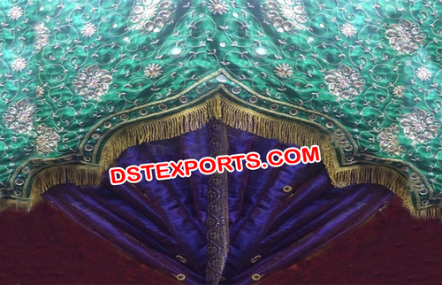 Wedding Heavy Embroided Backdrop