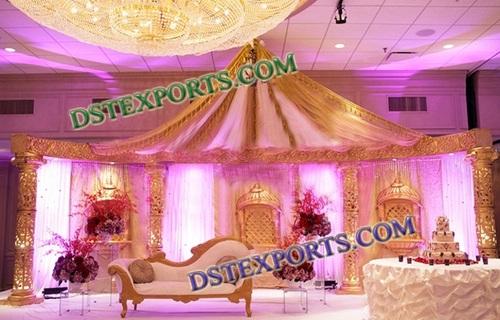INDIAN WEDDING GOLDEN STAGE 6827