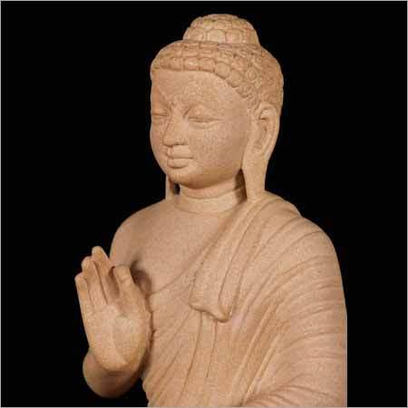 Natural Stone Buddha Statue