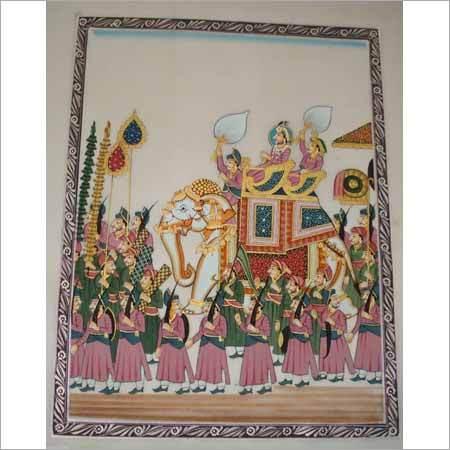 Mughal Sawari Paintings