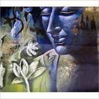 Contemporary Buddha Art Paintings