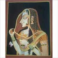 Indian Silk Paintings