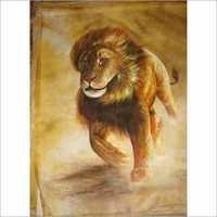Animal Silk Painting