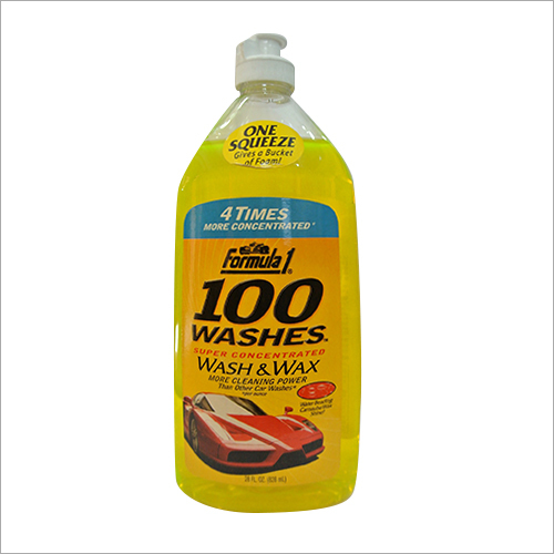Car Wash Wax Shampoo