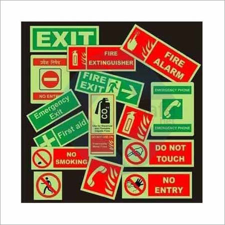 Emergency Signages