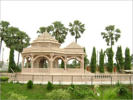 Elegant Design Marble Temple