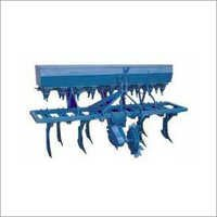 Front Wheel Seed Drill